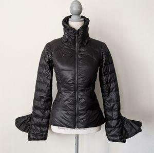 RARE Lululemon Down Town Puffy Jacket Black